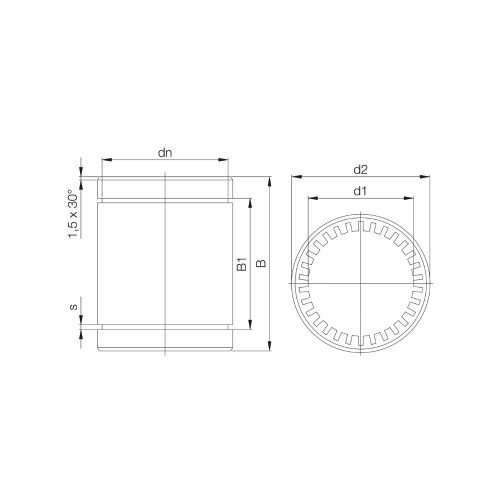 Igus-R-drylin-linear-slide-bearing-RJ4JP-01-08-DIM