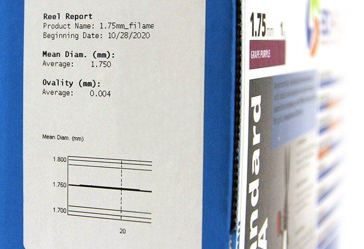 Filament-Specs-Label